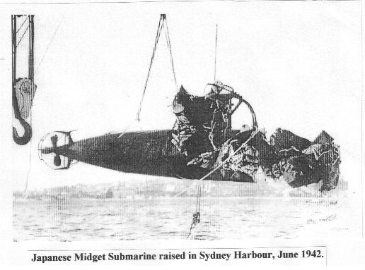 Japanese midget myth submarine