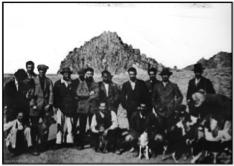 Australian and British POWs at Afyon Kara Hisar circa 1915