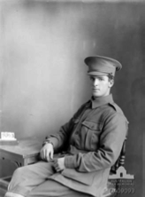 Darge portrait of Vivian Bartlett, May 1915.  AWM DA09093
